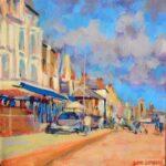 "Aldeburgh waterfront  acrylic 6""x6""x1"""