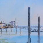 ''Still water Burnham waterfront'